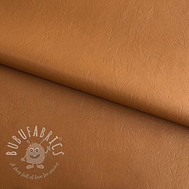 Faux leather Denise light brown