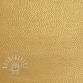 Faux leather KARIA gold