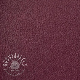 Faux leather KARIA amethyste