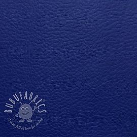 Faux leather KARIA bleu