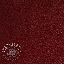 Faux leather KARIA bordeaux