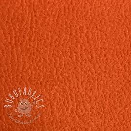 Faux leather KARIA orange