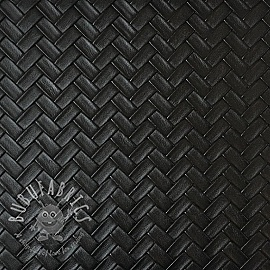 Faux leather PANIER noir