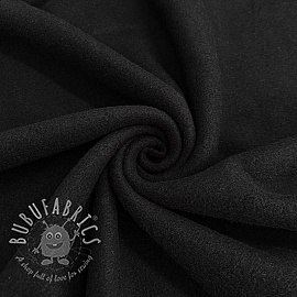 Fleece cotton black