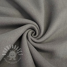 Fleece cotton grey