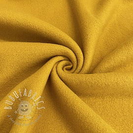 Fleece cotton ochre