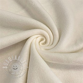 Fleece cotton off white
