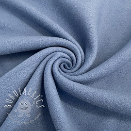 Fleece cotton old blue