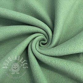 Fleece cotton old green