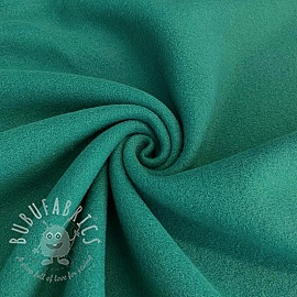 Fleece cotton petrol