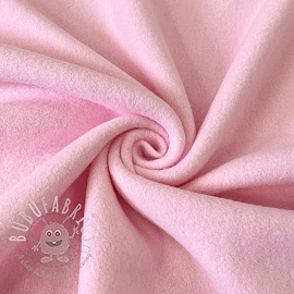 Fleece cotton pink