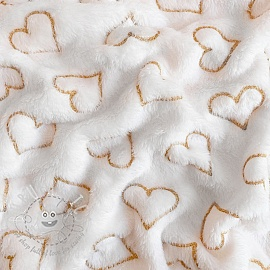 Fleece Wellness hearts white