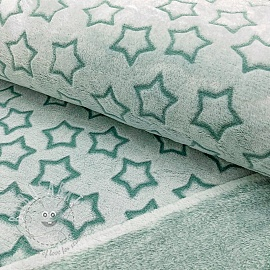 Fleece Wellness Star old green