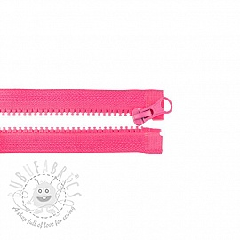 Jacket Zipper open-end 35 cm fuchsia