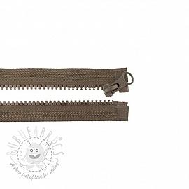 Jacket Zipper open-end 45 cm choco