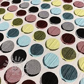 Jacquard Dots light blue
