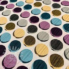 Jacquard Dots purple