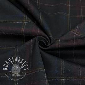 Costume fabric stretch Vicenza black
