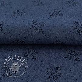 Jeans print denim blue