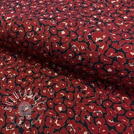Jersey Animal skin red digital print