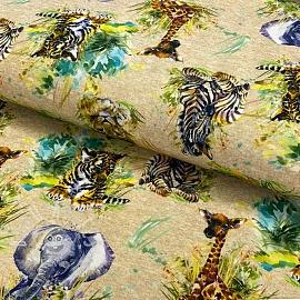 Jersey Baby savanna digital print