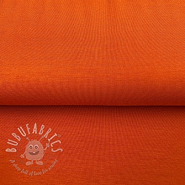 Jersey bamboo orange