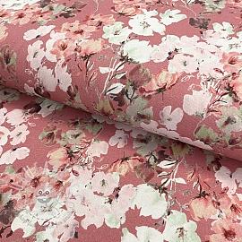 Jersey GOTS Blossom blush digital print