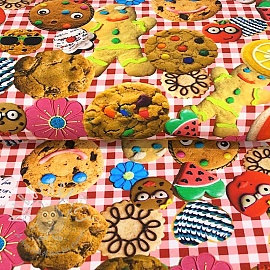 Jersey Cookie digital print