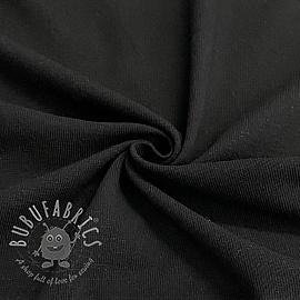 Jersey Cotton-Linen black