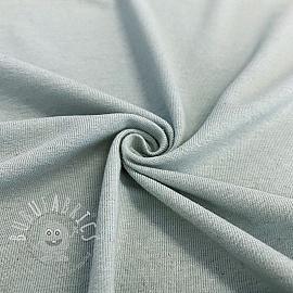 Jersey Cotton-Linen light blue