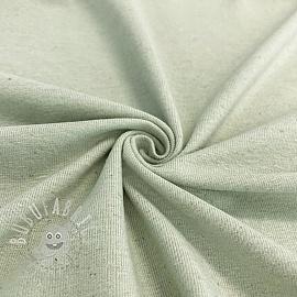 Jersey Cotton-Linen light mint