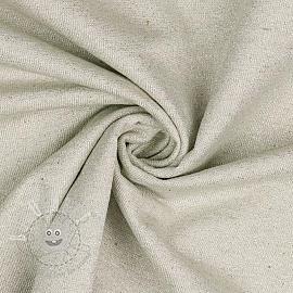 Jersey Cotton-Linen Lurex natural
