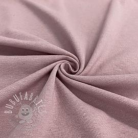 Jersey Cotton-Linen mauve