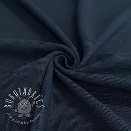 Jersey Cotton-Linen navy