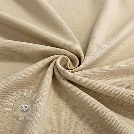 Jersey Cotton-Linen sand