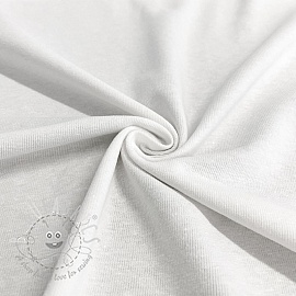 Jersey Cotton-Linen white