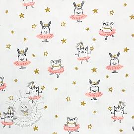 Jersey Dancing rabbit white