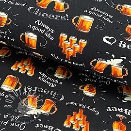 Jersey Drink responsibly digital print