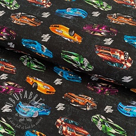 Jersey Fast and Furious Super sports dark grey digital print