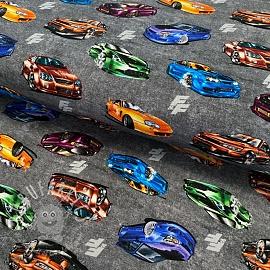 Jersey Fast and Furious Super sports light grey digital print