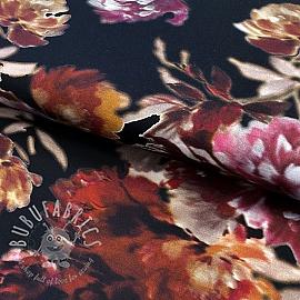 Jersey Flower Fiodora digital print