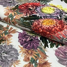 Jersey Flower Gerta digital print