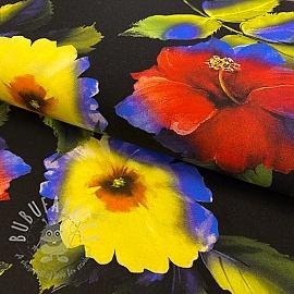 Jersey Flower Maya digital print