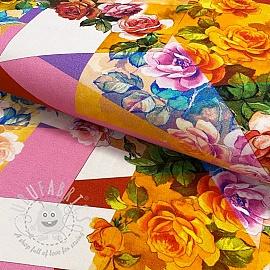 Jersey Flower Melissa digital print