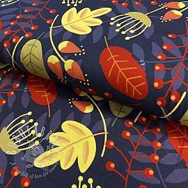 Jersey Flower Tatianna digital print