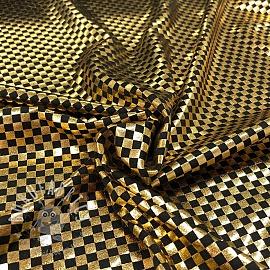 Jersey FOIL Squares gold black