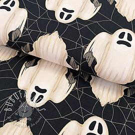 Jersey Ghost cream digital print