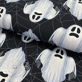 Jersey Ghost white digital print