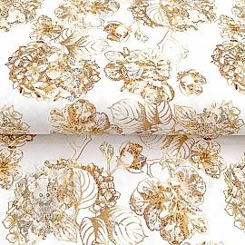 Jersey Golden garden digital print