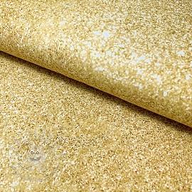 Jersey Lola confetti gold digital print
